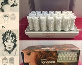 RESERVED FOR CONNIE *** Clairol Kindness 3-way hairsetter - vintage hot rollers