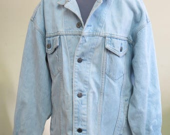 Womens light wash denim jacket