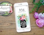Phone Wallpaper, iphone Wallpapers, Motivational Sayings, Lock Screen Wallpaper, Cell Phone Wallpaper, Digital Art, Instant Download