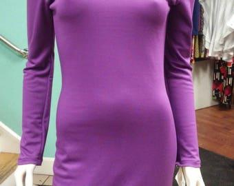 Lightweight Knit Long Sleeve Dress