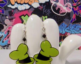 Disney's Goofy Hat Dangle Earrings