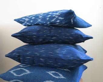 """Pillow, Throw, Throw pillow, Cushion, Pillow Decoration Ikat Cover A 16"""" x 16"""""""