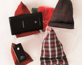Phone Pillow,  Tablet - Kindle Book Cushion, Smart Phone Holder, Phone Cushion, Cell Phone Pillow, Phone Stand, Tablet Stand, Gift for him