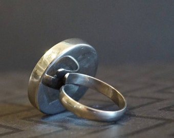 Stainless Steel Cup Bezel Ring Blank