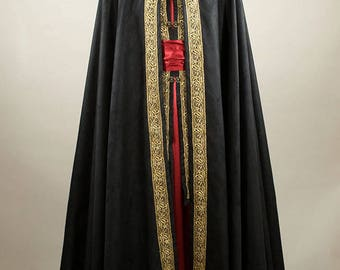 Made to order  Veldür elven cloak lord fantasy mage , custom made