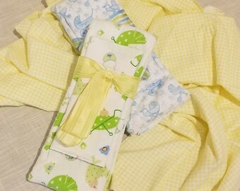 Infant Receiving Blanket Set - Strollers