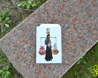Ma'at Mini Print - Pocket Goddess