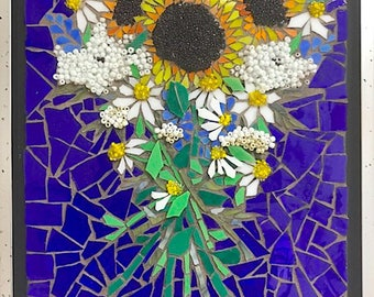 Mosaic Sunflower Bouquet-FREE SHIPPING