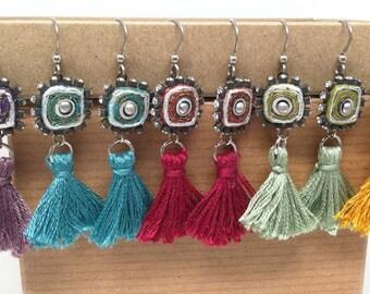 Sassy Tassels for your Bridesmaids - Boho Wedding - Boho Bridesmaid - Summer Earrings