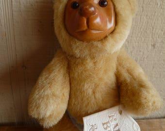 """Robert Raikes Bear Plush """"Nursery Miniatures"""" Applause 1990"""