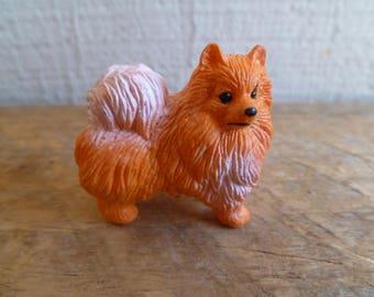 Vintage Adorable Mini Pomeranian Cake Topper