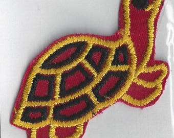 Vintage Turtle Applique, 1970s