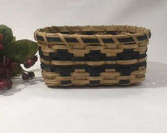 Napkin Basket-Handwoven Basket-Square Basket- Bread Basket