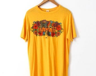 vintage Hawaii t-shirt, 1970s Hawaii graphic tee