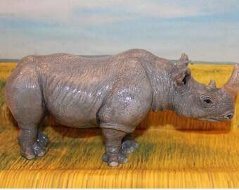 Rhinoceros figure
