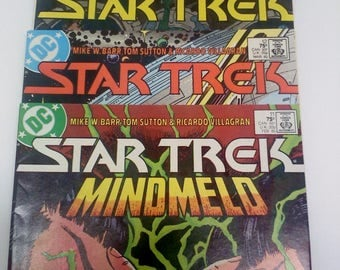 Star Trek Comic Books, Set of 3