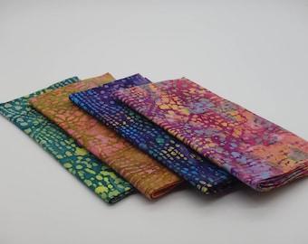 batik napkins boho napkins tie dyed napkins luncheon napkins dinner napkins