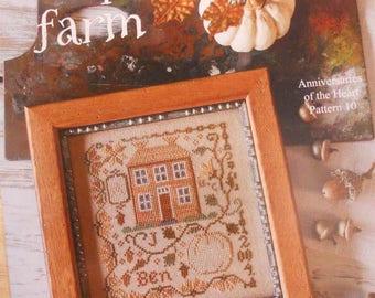 Pumpkin Farm, Anniversaries of the Heart Pattern 10, by Blackbird Designs...cross-stitch design
