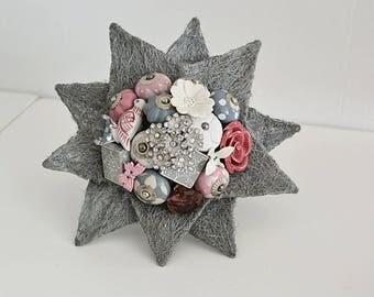 Ready Made Wedding Star Bureau & Brooch Bouquet