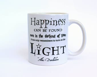 Harry Potter Mug Ceramic Coffee Cup Inspirational Quote Gift