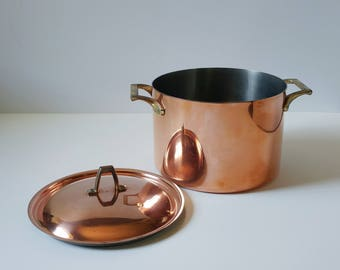 Revere Vintage copper pot, copper Dutch oven, Paul Revere copper, limited edition