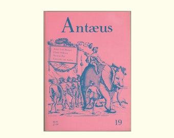 Antæus 19, 1975 Jorge Luis Borges, Flann O'Brien, Octavio Paz, Yanovsky on Auden, Hayden Carruth, Vintage Literary JournalMuriel Rukeyser