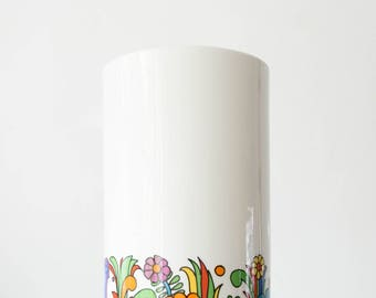 Mid Century Acapulco Vase // Villeroy & Boch // Bohemian Modern Home Decor // Vintage Mexican Ornaments // Antique Lanterns