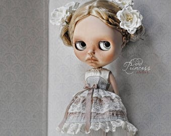 MORNING STAR Silk Blythe/Pullip Dress By Odd Princess, Victorian Collection, Special Outfit