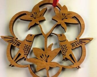 NEW ** Hummingbird Christmas Tree Ornament Last Minute Gift Custom Option
