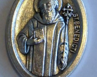 St. Benedict Medal on chain
