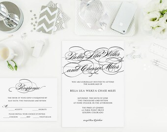 Sample Bilingual Vietnamese Wedding Invitation Set Script