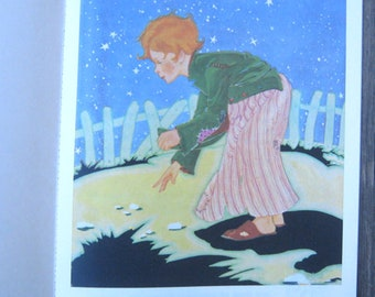 B. Shackman reproduction of Hansel & Gretel (American Crayon Co.); Fern Bisel Peat's Whimsical Color Illustrations; U.S. Shipping Included