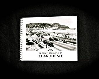 Wales Llandudno Souvenir Photo Booklet Vintage
