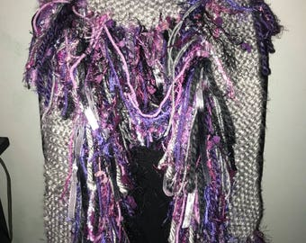 2018 Color of the Year Fringe Scarf