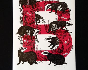 B is for Badger!