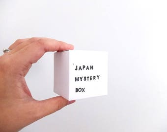 Japan Mystery Box: contains ONE pin or necklace worth at least 25USD, gifts for her.