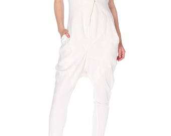 Givenchy White Jumpsuit Size: S