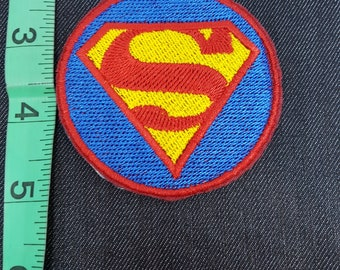 DC Superman Justice League Iron/Sew on Patch