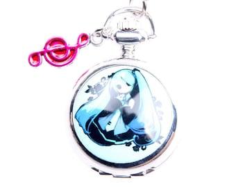 Necklace Pocket watch Frozen 2222m