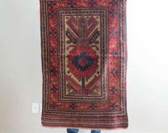 3x5 Vintage Persian Carpet