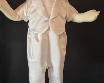 Christening outfit for your baby boy or custom made from your wedding dress