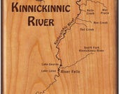 Kinnickinnic River Map Fl...