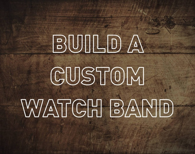 Build a Custom Leather Watch Strap