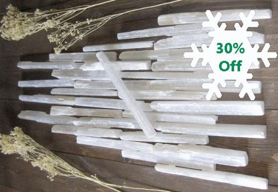 Selenite Wand Communication with Higher Self Spirit Guides Angels Chakras Synergy Moon Water Energy Back Pain Connection