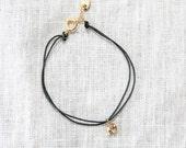 Elephant Bracelet-Cord Br...