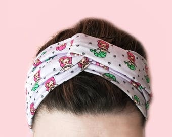 Mermaid Turban Headband