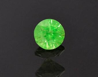 Vivid Lime Green Grossular Garnet Gemstone from Tanzania 1.09 cts.