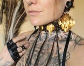 Golden Dragon Earrings