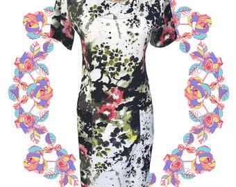 Adult Splash Pocket Dress