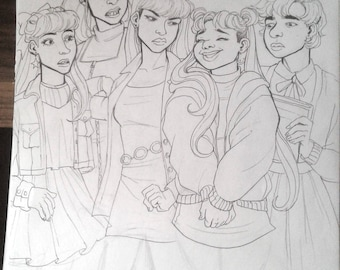 Sailor Moon original A4
